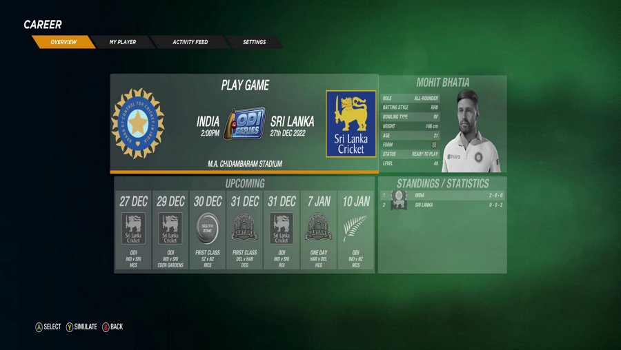LIVE | Cricket 19 | Career Mode #74 | Indian Career Matches