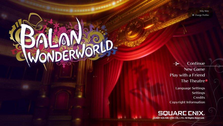 BALAN WONDERWORLD - Xbox Series X